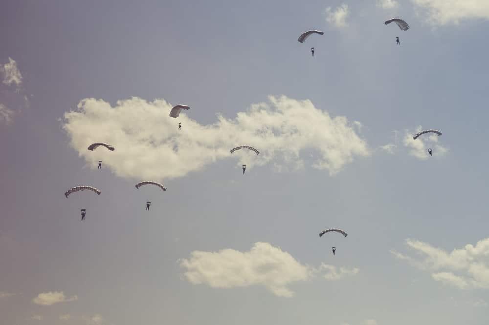 spadochrony na prezent